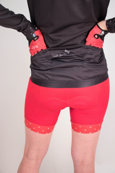 Gants de vélo Maloja Sartiv Red Poppy