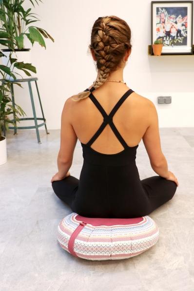 Coussin de méditation Baya Tanger