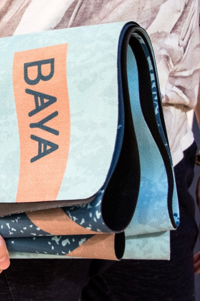 Tapis de Yoga Baya Biarritz - gamme Travel
