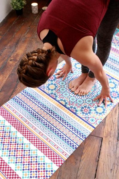 Tapis de Yoga Baya Tanger - gamme Intense