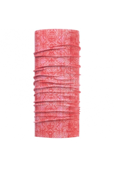 Tour de cou Buff anti-uv Calyx Salmon Rose