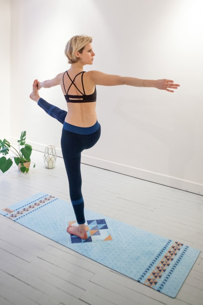 Tapis de Yoga Baya Stockholm - Intense