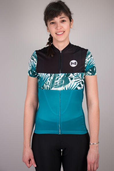 Maillot de vélo Matchy Cycling Tropical