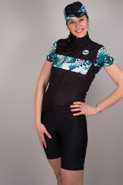 Gilet de vélo sans manches Matchy Cycling Tropical