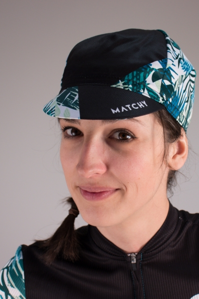 Casquette de vélo Matchy Cycling Tropical