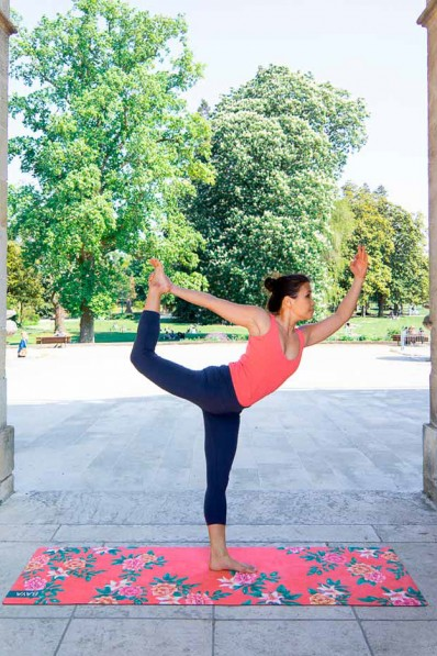 Tapis de Yoga Baya Séville - Intense