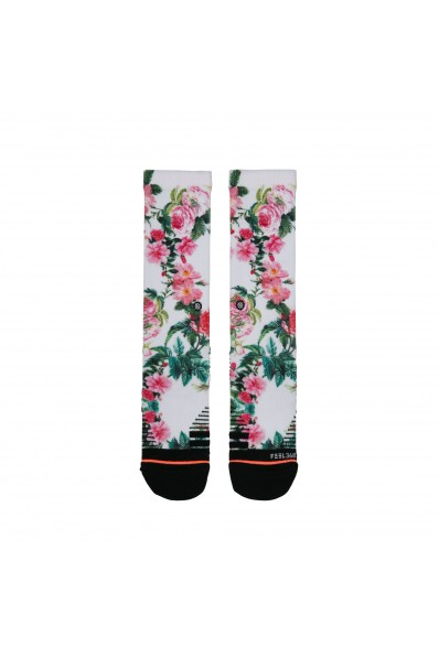Chaussettes Stance Training Crew Evergreen
