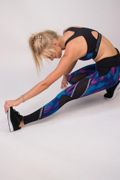 Legging Superdry Sport Active Multi Print