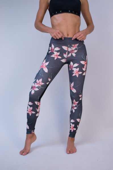 Legging de sport Roxy Spy Game Flower