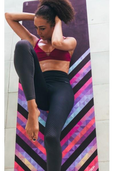 Tapis de yoga YDL Studio Chevron Maya