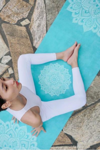 Tapis de yoga YDL Commuter Mandala Turquoise