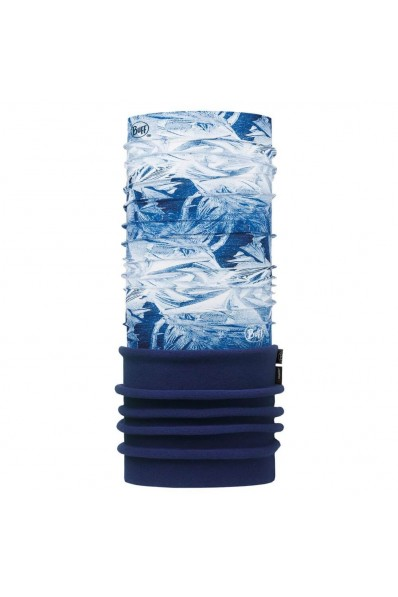 Tour de cou Buff microfibre et polaire Frost Blue