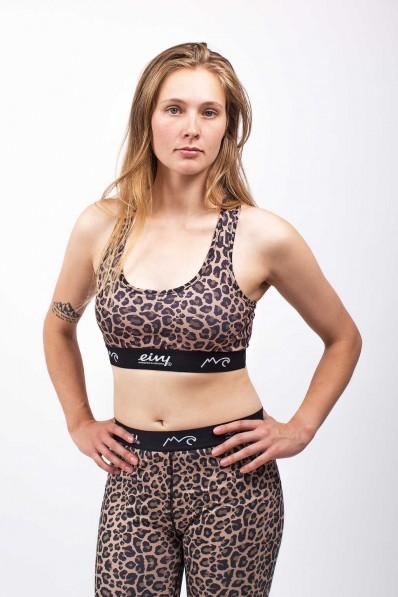 Brassière de sport Eivy Shorty Leopard