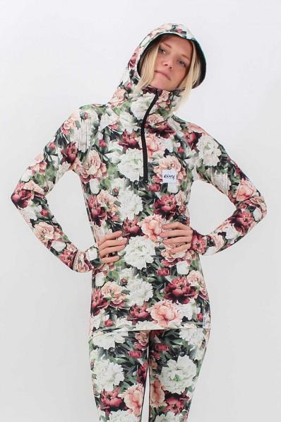 Top Eivy Icecold Winter Zip Hood Autumn Bloom