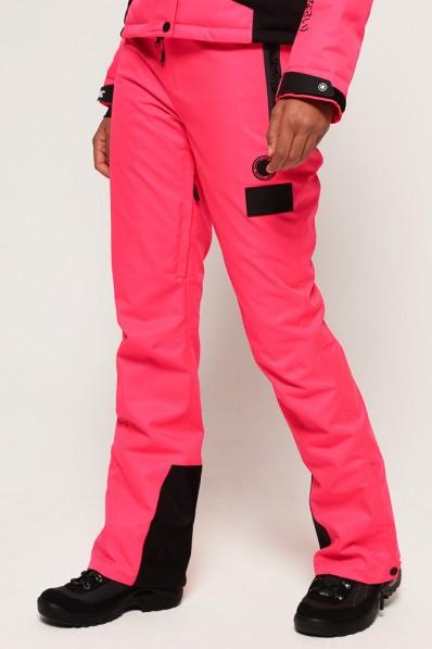 Pantalon de ski Superdry Snow Pink