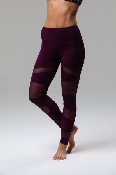 Legging Onzie High Rise Bondage Aubergine