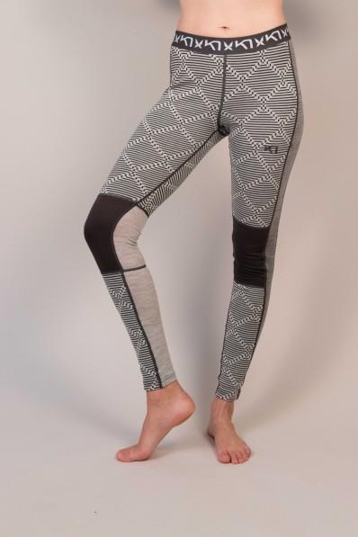 Legging en laine mérinos Kari Traa Rett Greym