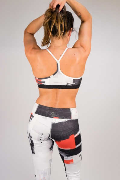 Brassière de sport Reebok Skinny Digital