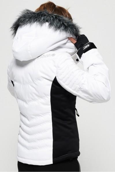 Veste de ski Superdry Luxe Snow Puffer Optic