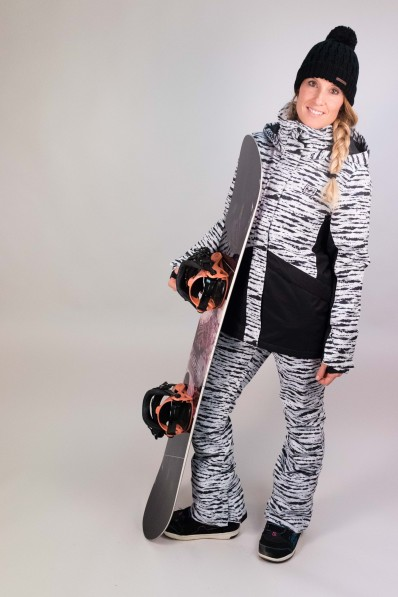 Veste de snow Billabong Kayla Black & White