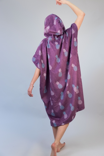 Poncho After Essentials Pineapple - Purple