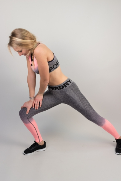 Legging Superdry Sport Seamless Ombre Candy Coral
