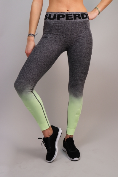 Legging Superdry Sport Seamless Ombre Lemonade