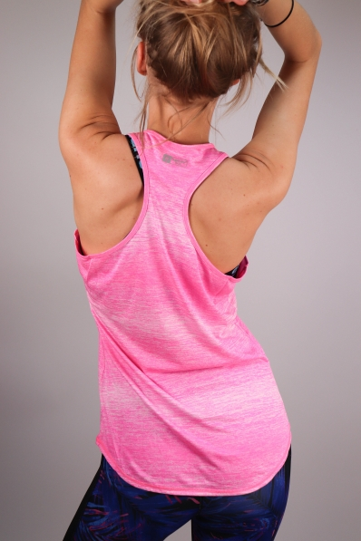 Top Superdry Sport Fitspiration Ombre Vibe Pink