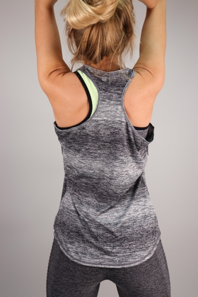 Top Superdry Sport Fitspiration Ombre Black&White