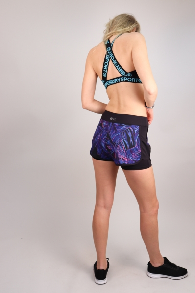 Short Superdry Sport Panel Tropical Vibe