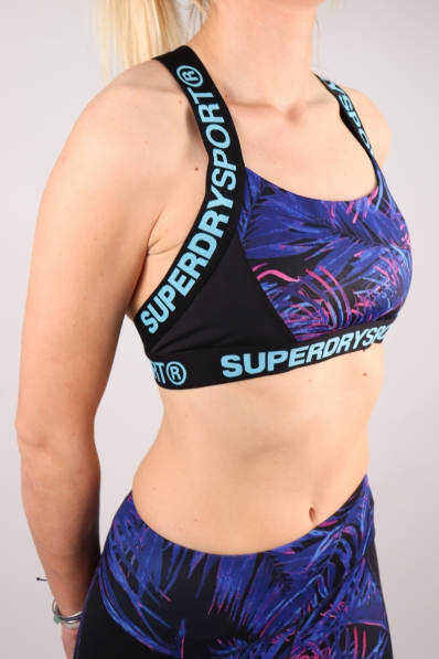 Brassière Superdry Sport Colourblock Tropical Vibe