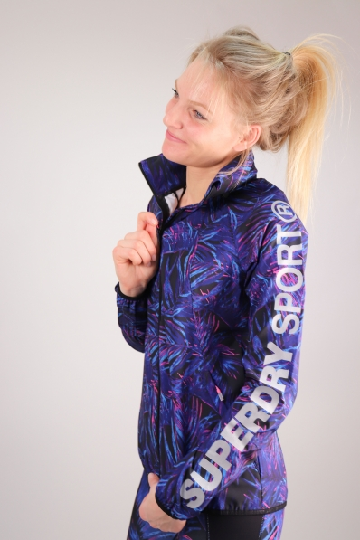 Veste Superdry Sport Lightweight Tropical Vibe
