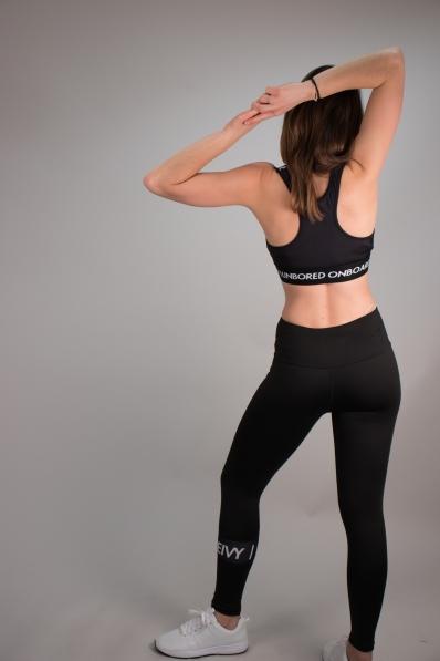 Legging de sport Eivy Summer noir
