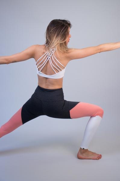 Legging de sport Onzie High Rise Track Peach