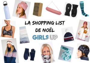 La Shopping List de Noël pour rendre une sportive heureuse !